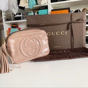 Authentic Gucci Disco Soho Crossbody Bag